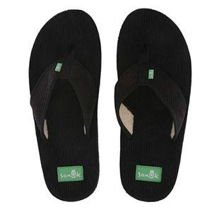 NWT Sanuk Sandals Flip Flops